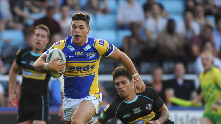 Alex Foster: Has signed a new three-year deal with the Leeds Rhinos