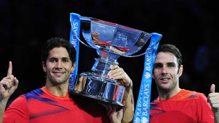 Fernando Verdasco (left) and David Marrero: 2013 champions at the O2