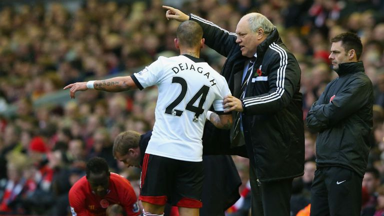 Martin Jol: Saw his Fulham side endure another afternoon to forget at Anfield