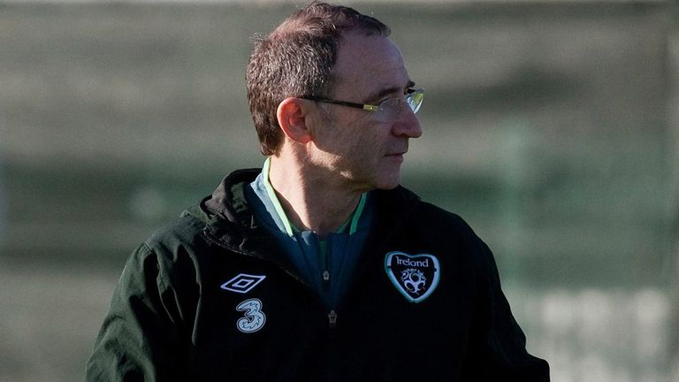 Martin O'Neill: Ireland boss has lost three players for the game with Serbia