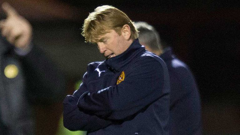 Stuart McCall: Embarrassed to face his family after 1-0 loss to Albion Rovers