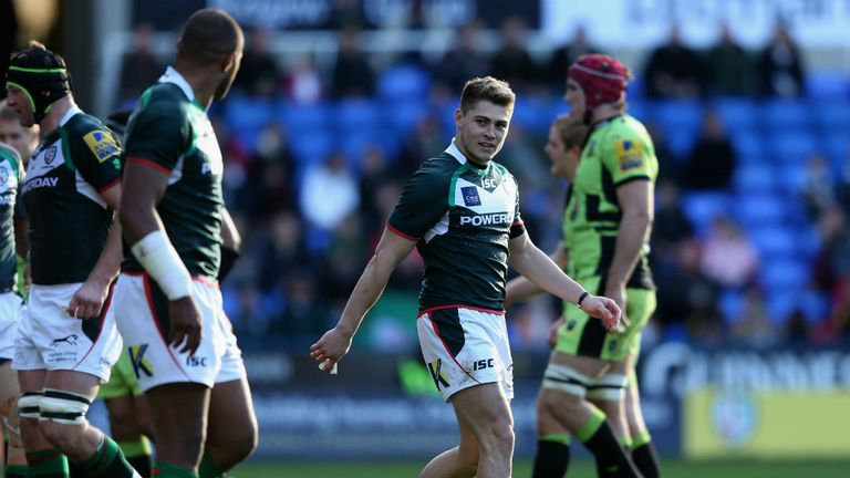 James O'Connor: Produced an excellent debut for London Irish