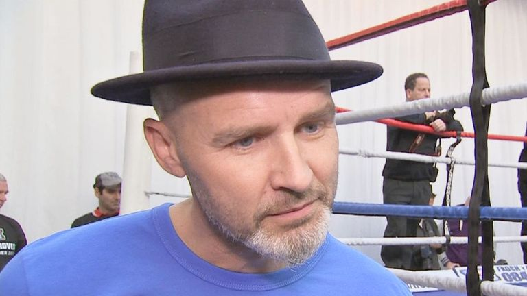 Paddy Fitzpatrick: Has prepared George Groves for his first world title fight