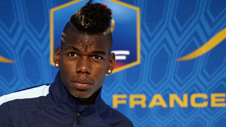 Paul Pogba: Desperate be in the France side to face Ukraine
