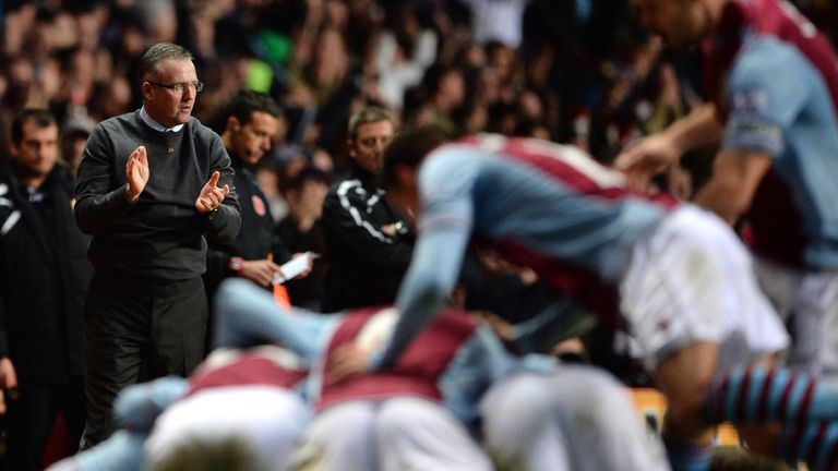 Paul Lambert: Happy with Villa win