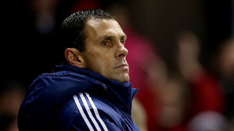 Gus Poyet: Could not criticise his side