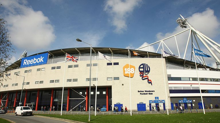 Reebok Stadium: Big debts at Bolton