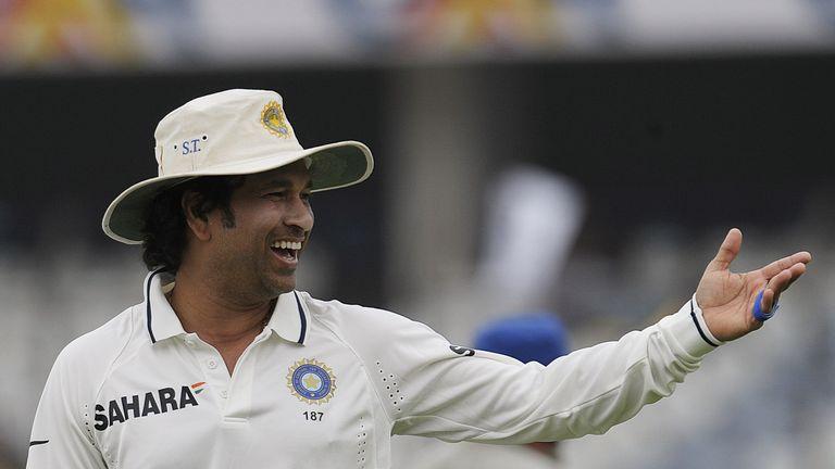 Sachin Tendulkar claimed the wicket of Shane Shillingford