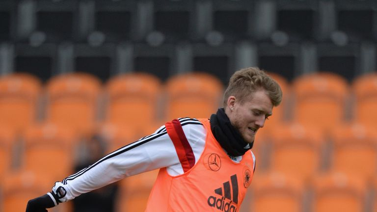 Andre Schurrle: Says there will be no complacency when Germany face England