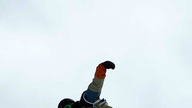Billy Morgan: Is set to compete in the slopestyle snowboarding event for Great Britain at Sochi 2014