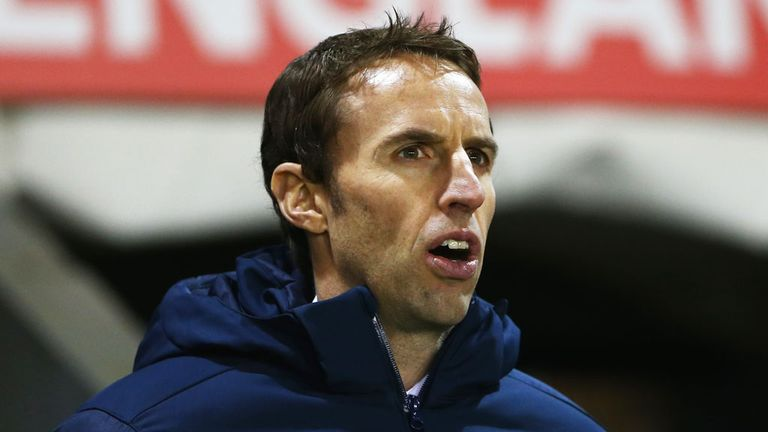 Gareth Southgate: Wants managers to stick with their youngsters