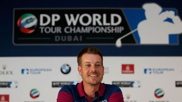 Henrik Stenson: The man everyone must catch at this week's Race to Dubai finale