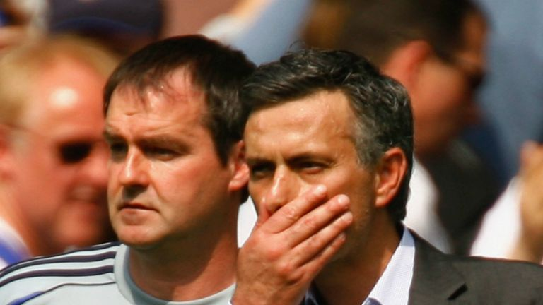 Steve Clarke and Jose Mourinho will be in opposing dugouts this Saturday