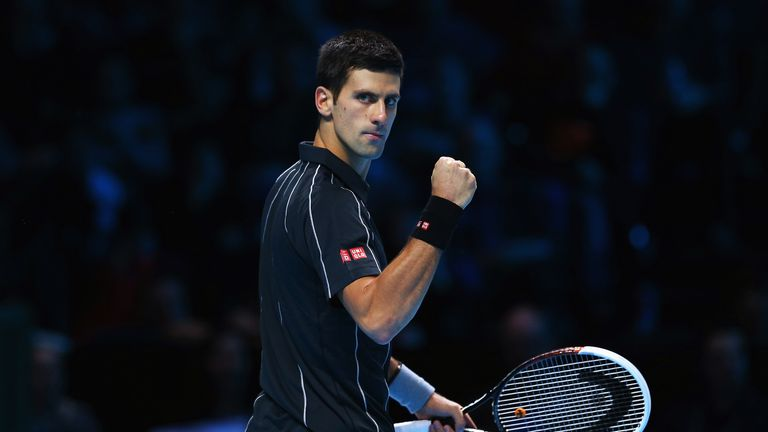 Novak Djokovic: The Serbian has now won 21 successive matches on the ATP Tour