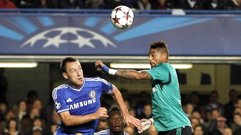 John Terry: Jumps with Boateng