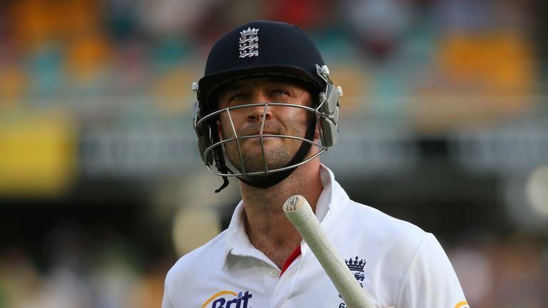 Jonathan Trott: Received the backing of former England captain Alex Stewart