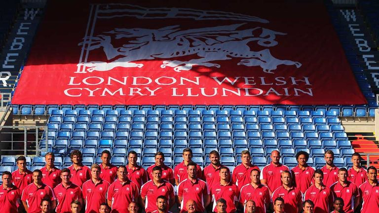 London Welsh: Eight new recruits