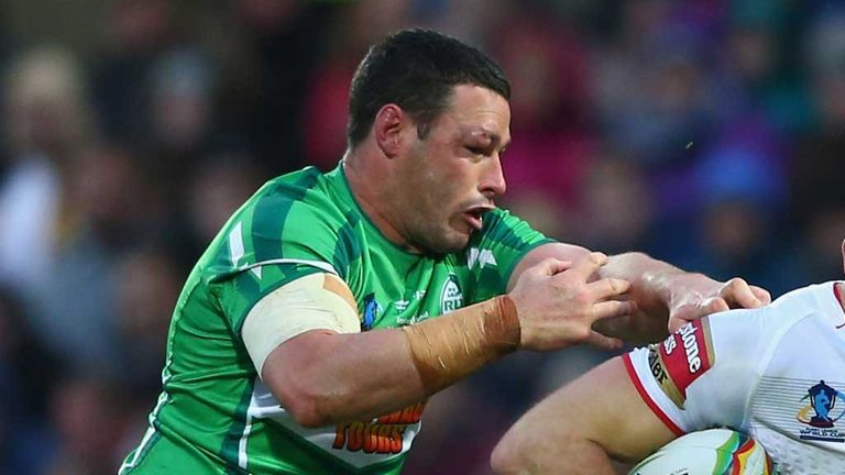 Brett White: Keen to play educational role in Irish rugby league
