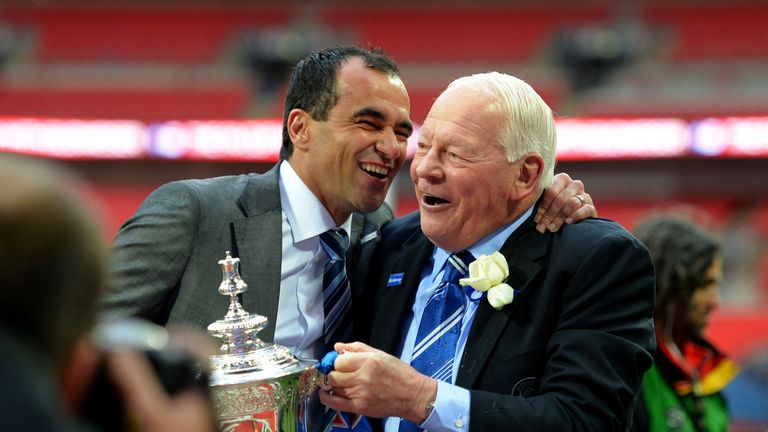 Roberto Martinez: Guided Wigan to a historic win in the FA Cup final