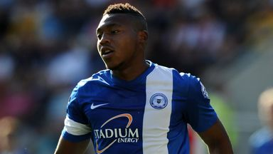 Britt the hit: Assombalonga has rifled in 28 goals in all competitions for Posh this term