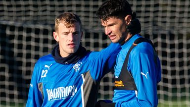Dean Shiels (left): Back in contention for Rangers