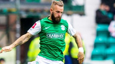 Rowan Vine: Out of favour as Hibernian contract runs down