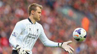 Simon Mignolet: Praised by Liverpool boss Brendan Rodgers