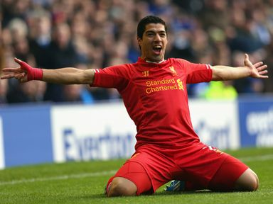 Luis Saurez: In great form for Liverpool