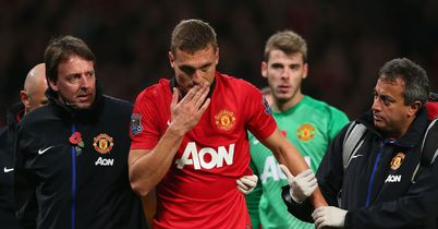 Nemanja Vidic: Ready for a return after injury