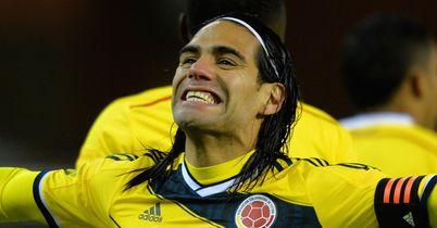 Radamel Falcao: On the scoresheet for Colombia