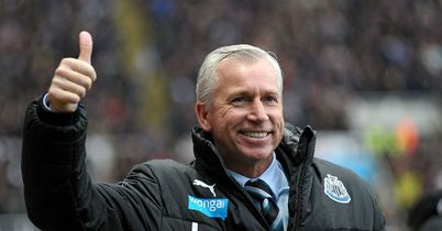 Alan Pardew: Thumbs up for Newcastle's recent form