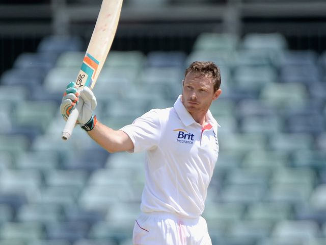 Ian Bell retired with 115 to his name