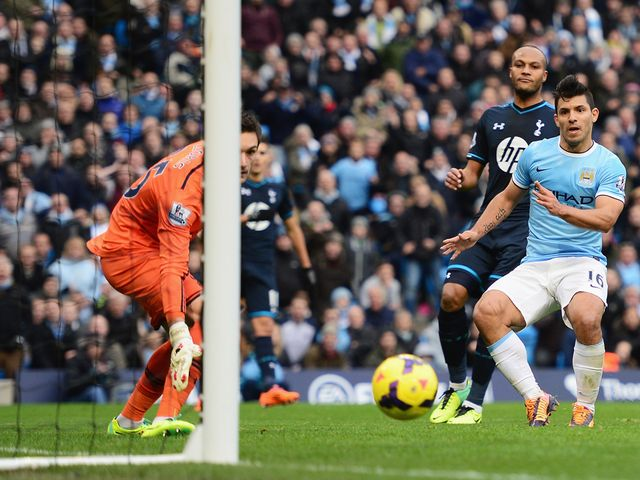 Sergio Aguero starred for Manchester City