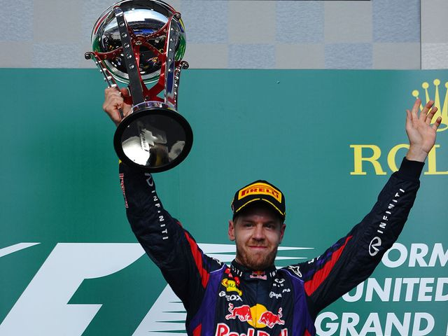 Vettel: Won for the eighth time in a row