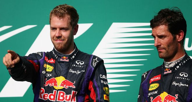 Sebastian Vettel: Says Webber has always challenged him