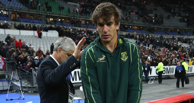 Eben Etzebeth: South Africa lock facing a lengthy lay-off