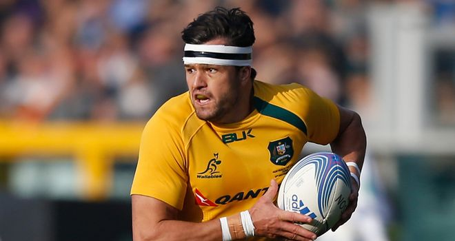 Adam Ashley-Cooper: Named at outside centre for Wales clash