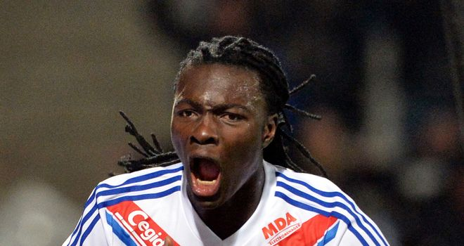 Bafetimbi Gomis scored for Lyon