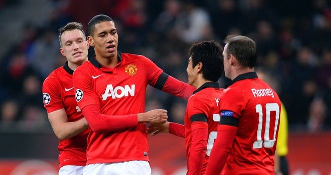 Chris Smalling: Scored the fourth as Manchester United destroyed Bayer Leverkusen 5-0