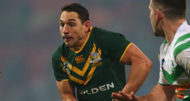Billy Slater: Very much part of Australian plans