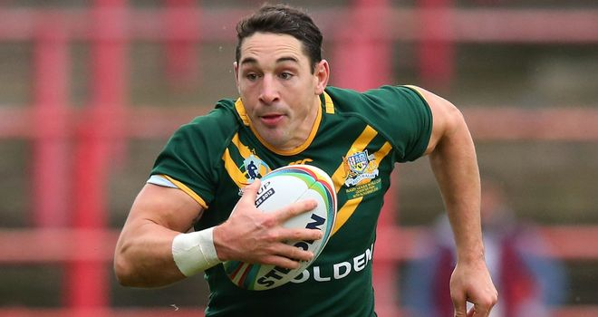 Billy Slater: Was injured during Saturday's quarter-final victory