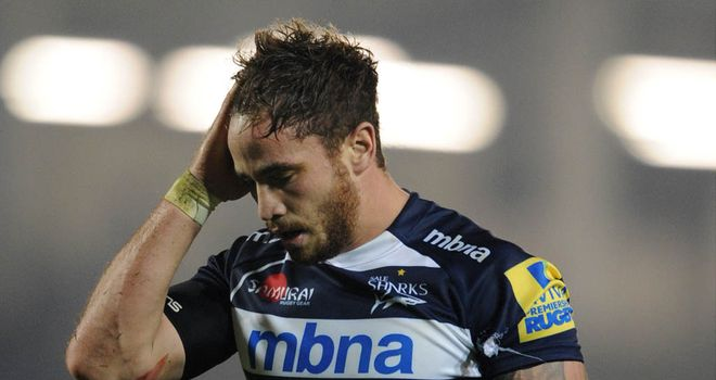 Danny Cipriani: Had a hand in Sale's try in their home win over London Irish