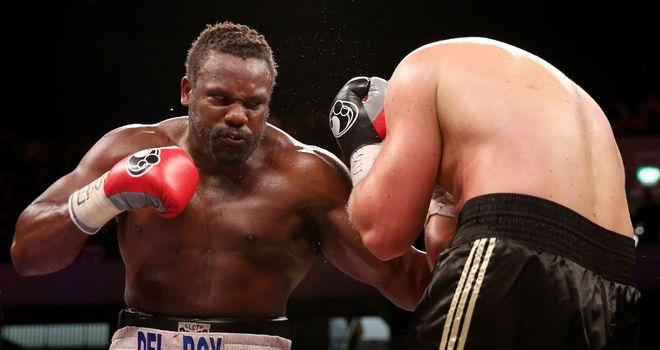 Dereck Chisora: Successfully defended his WBO International heavyweight title on Saturday