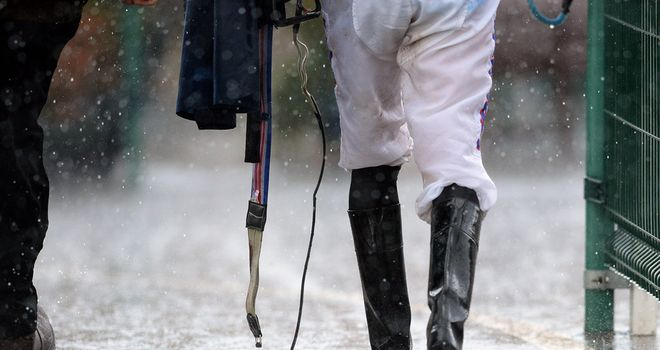 Rain is causing problems for Market Rasen