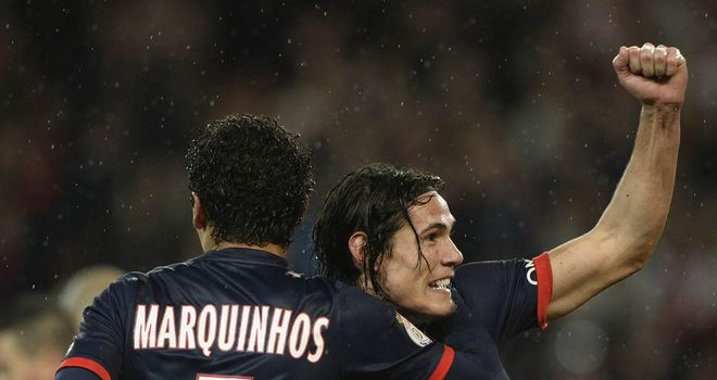 Edinson Cavani: Last-gasp goal guaranteed PSG progression