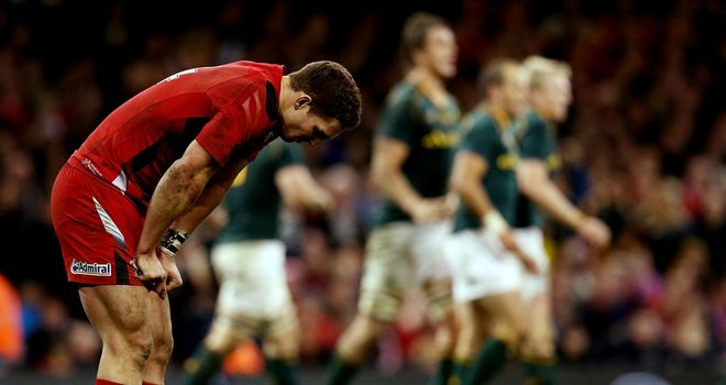 George North had a disappointing game against South Africa