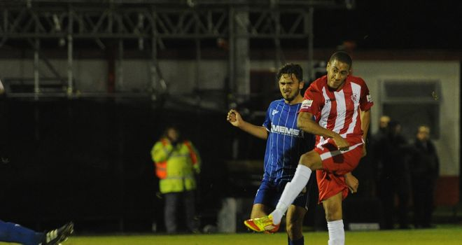Glenn Walker: Scores the winning goal to knock out Gillingham