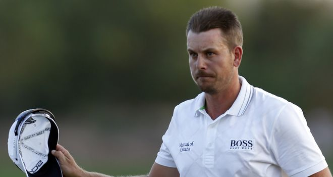 Henrik Stenson: Is gunning for victory in Dubai