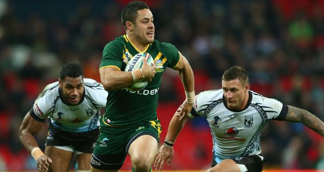 Jarryd Hayne: Leading the way on the try scorer markets