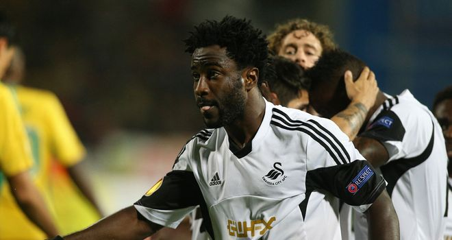 Wilfried Bony: On target in Russia